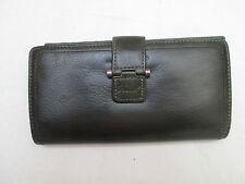 AUTHENTIQUE portefeuille porte-monnaie FOSSIL  cuir  TBEG vintage
