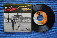 CHARLES AZNAVOUR / EP BARCLAY 70929 / RECTO 1 VERSO 3  LABEL 3 / BIEM 1966 ( F )
