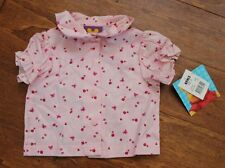 NWT Baby girls Disney Winnie the Pooh pink shirt/blouse size 12 months