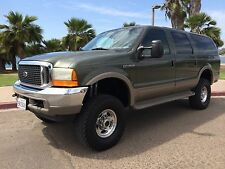 Ford : Excursion Limited 4WD DIESEL 4x4 Leather Cali 2 Owner LIFTED