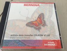 Bernina Artista 200 Data Transfer CD-ROM V1.02