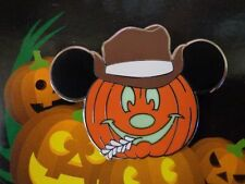 Disney Pin DLR Mickey's Halloween Party 2012 Jack-OLantern Jungle Cruise Skipper