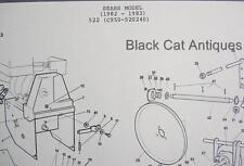 Canadiana Snowblower Illustr Parts List 1982-1983 Sears Model 522( C950-520240)