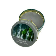 Candle Scented Incense Fragranced Delicate Waterfall Salco Small Portable Tin
