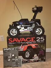 HPI 1/8 scale Savage 25 2-speed 4WD ready-to-run nitro monster truck