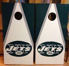 NY Jets Custom Made  Cornhole boards and Free Bags