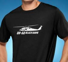 UH-60 Black Hawk Helicopter Classic Outline Design Tshirt NEW FREE SHIPPING