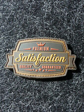 "MIL SPEC MONKEY SATISFACTION BRONZE 3.5"" X 2"" PVC rubber MORALE PATCH"