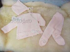 ninisingen Babystrick Reborn Feinstrick Gr.50/56 NEU Puppenkleidung aus Spanien