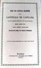 PIETRO BALZANO DELL'USO ANTICO E RECENTE DEL CASTELLO DI CAPUANA RIST ANASTATICA
