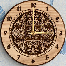 STL file of New Wall Clock #6 3d or engrave - Model for CNC Router Machine