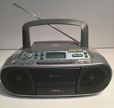 Sony CFD-S01 AM/FM Radio CD Cassette Recorder Player Portable Stereo Boombox