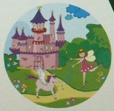 Jasco Pink Fairy Princess Night Light Projects Image on Ceiling / Wall AutoOnOff