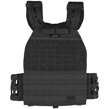 5.11 TacTec Plate Carrier Tactical Padded Quick Release Police MOLLE Vest Black