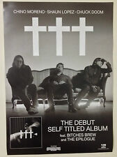CROSSES ✝✝✝ Album Promo Poster A2 DEFTONES FAR PALMS TEAM SLEEP SOUNDWAVE ***NEW