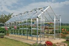 Snap & Grow 8 ft x 20 ft SILVER Greenhouse Poly-tex by Palram