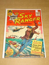 JOHNNY LAW SKY RANGER #1 VG+ (4.5) GOOD COMICS APRIL 1955