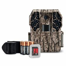 Stealth Cam ZX36NG 10MP No Glo Infrared Game Trail Scouting Camera Kit +SD Card