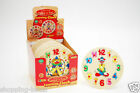 Wooden Puzzle Clock Childrens Kids Clown Clock Toy Learn The Time Jigsaw Puzzle