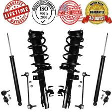 Front Complete Struts Rear Shocks Front and Rear Sway Bar Links Mazda 3 & 5