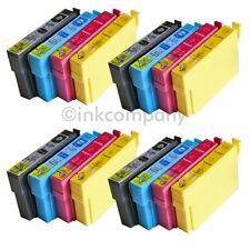 16 kompatible Druckerpatronen alle 4 Farben für den Drucker Epson S22 SX125 SX23