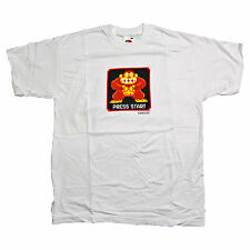 Nintendo-donkey kong press start t shirt-large