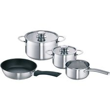 Schulte Ufer - Siemens Neff Induction Saucepans Frying Pan For Hob Set Of 4 New