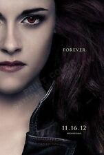 2012 TWILIGHT SAGA BREAKING DAWN 2 BELLA TEASER FOREVER POSTER 22x34 NEW
