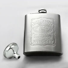 7oz Stainless Steel Hip Liquor Whiskey Alcohol Pocket Flask with Portable Funnel
