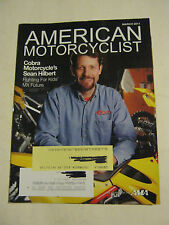 March 2011 American Motorcyclist Magazine, Sean Hilbert (BD-15)