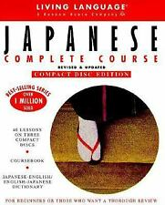 Living Language Japanese Complete Course, Revised & Updated (40 Lessons on 3 Com