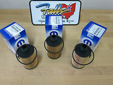 2011-2017 Ram 1500 Jeep Grand Cherokee 3.0L Diesel Oil Filter Set of 3 Mopar OEM