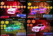 "Wangan Maximum Tune 3DX+ ""46Lv 825hp 9999 ~ 69999 stars + YOUR NAME card"