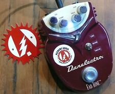 Danelectro Fab Tone Distortion Modified Guitar Effects Pedal Alchemy Audio Mod