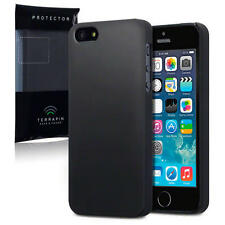 Hard Rubber Slim Armour Back Case Cover for New Apple iPhone 5/5S/SE Soft feel
