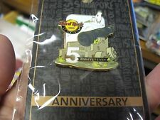NEW Hard Rock Cafe HRC Limited 5th Anniversary 3D Canon Pin / St. Maarten