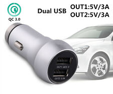 Dual USB 54W Quick Charge Drive 2-Port Support Car Charger Safety For iPhone Hot