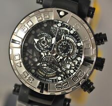 New Invicta 20624 LE Subaqua Reserve Swiss Chronograph See-Thru Dial Poly Watch