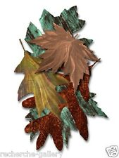 Tree Leaf Metal Art Modern Home Decor Wall Sculpture by Ash Carl