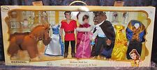 Disney Beauty and the Beast Belle Gaston Deluxe Classic Doll Gift Set NEW!