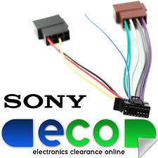 alpine sony cdx gt in car parts sony new style 16 pin car stereo wiring harness iso sony car stereo power lead