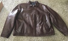 Vintage Gap Insulated Leather Jacket, Size XL