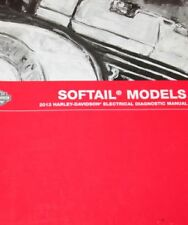 2013 Harley Davidson SOFTAIL SOFT TAIL MODELS Electrical Diagnostic Manual NEW
