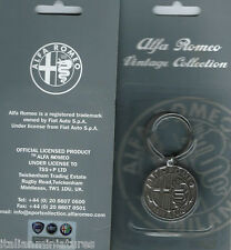 Alfa Romeo Milano Vintage Collection Keyring Official Product Sealed in Pack