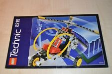 00272 LEGO Technic Gyro Copter 8215 - Building Plan only