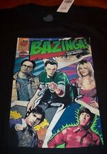 THE BIG BANG THEORY BAZINGA Cast COMIC BOOK T-Shirt MEDIUM NEW Sheldon Penny