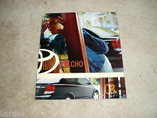 2003 Toyota Echo sales brochure dealer catalog literature