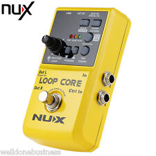 NUX Loop Core Guitar Effect Pedal True Bypass Design Built-in Drum Pattern
