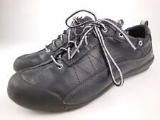 MEPHISTO ALLROUNDER Bojana Black Leather Sneakers Sport Walking Shoes Sz 6.5
