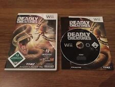   NINTENDO Wii   DEADLY CREATURES   OVP   THQ  